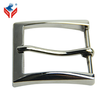 Brushed Nickel Pin Fancy Buckle For Men Or Women Belts