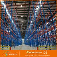 Heavy Duty Warehouse Steel Industrial Storage Used Vertical Metal Pallet Racking