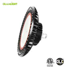 Aluminum Housing IP65 120W UFO LED High Bay Light 5 Warranty for Warehouse High Bay Light