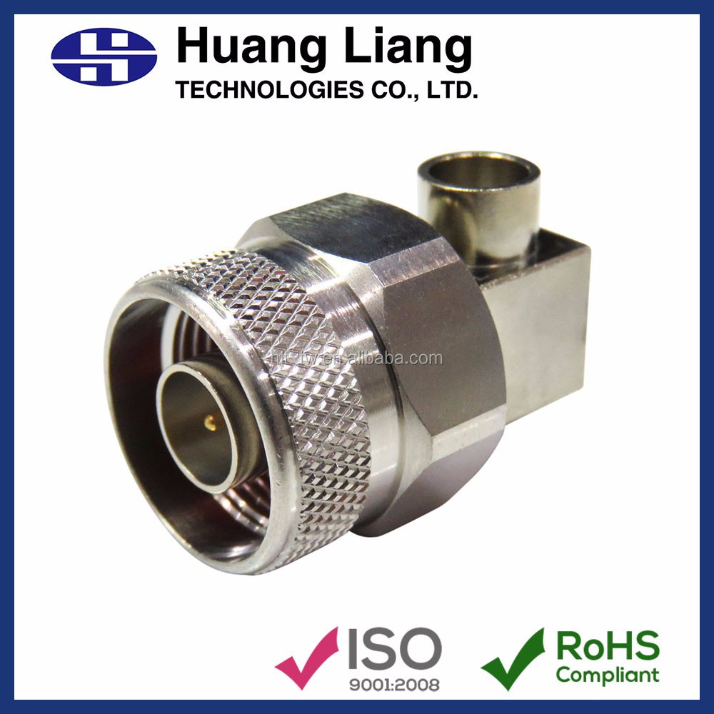 RF 250 SEMI RIGID Right Angle Male N Type Connector