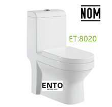 ENTO 8020 SIPHONIC ONE PIECE NOM STANDARD TOILET