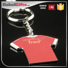 Factory direct sale custom metal evil eye beads key chain