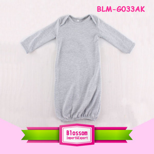 Infant Baby Girl Lap Shoulder Night Gowns Newborn Baby Girl 0-24 Months Beautiful Bright Baby Sleep Gown