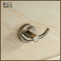 shower bath design wall mount zine alloy brush surface hot sell coat hook