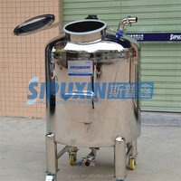 Sipuxin_Customized 1000 litre stainless steel mixing storage tank for milk