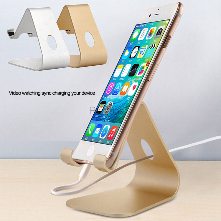 Universal Phone Tablet Solid Aluminum Desktop Stand Dock Holder For iPad 2 3 4