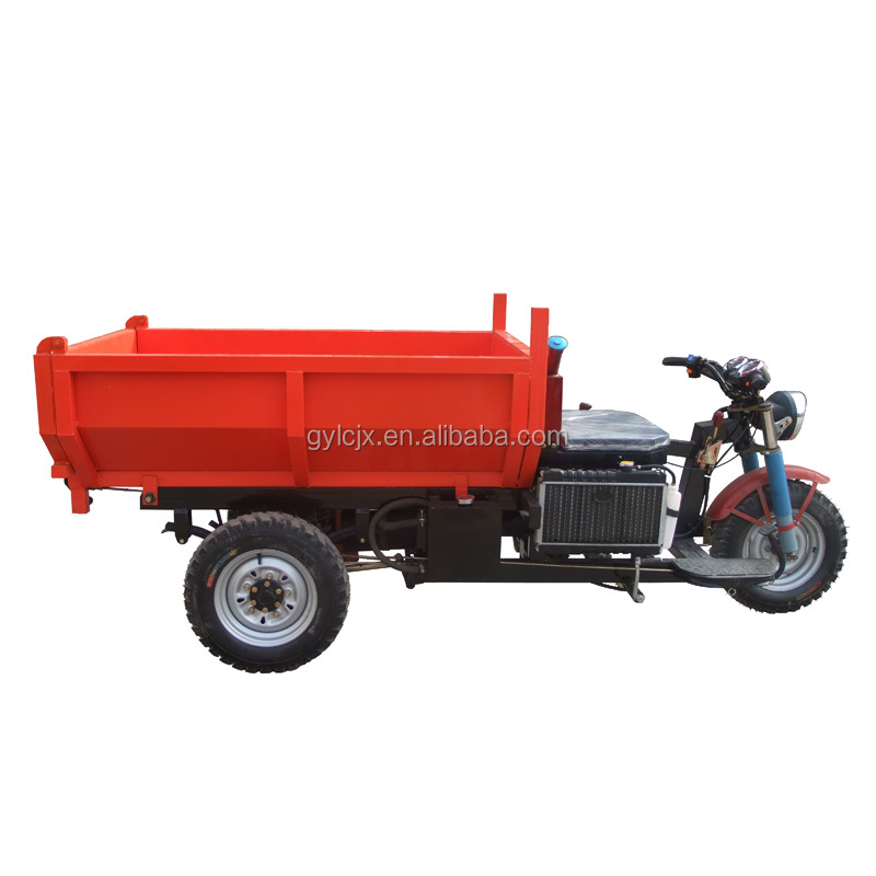 Licheng motorcycle with tipper/2017 new arrival motorcycle with tipper/motorcycle with tipper with automatic lifting system