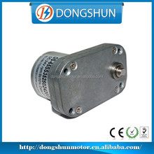 DS65SS3525 12v 180rpm dc gear motor high torque parallel shaft