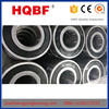 2016 HQBF hot sale low noise ball bearing deep groove ball bearing 6206/6208/6305/6310/6012/ZZ/2RS/N/NR