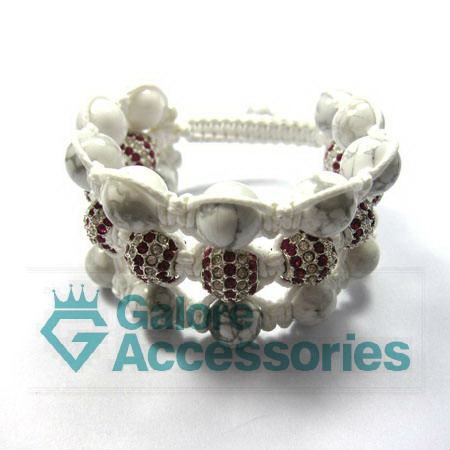 3 row original bead patterns shamballa bracelets