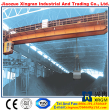 double hook 450/80 ton bridge crane control circuit of crane industry steel rail overhead crane