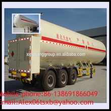 SINO TRUK chassis 20.3T lng semi trailer for sale