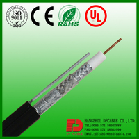 High Quality 4 awg cable 75Ohms coaxial cable rg6 coaxial cable rg45