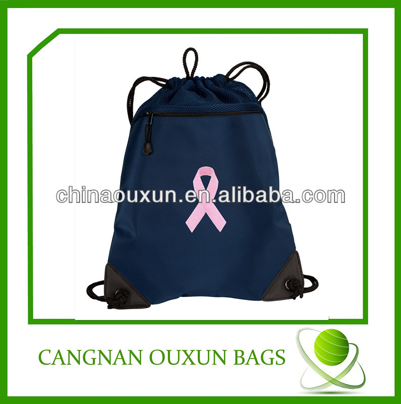eco-friendly factory price polyester slazenger backpack bag