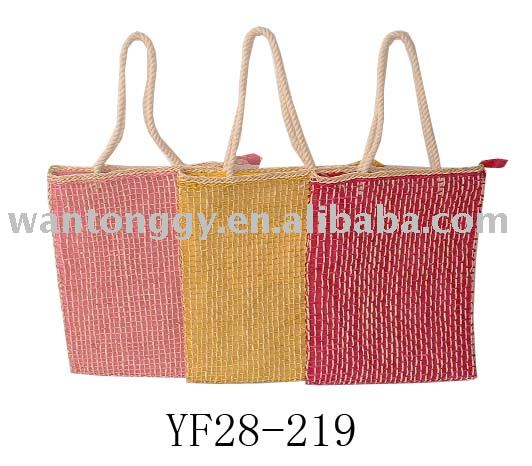 2013 Fashion Colorful Handled Women Tote Bag