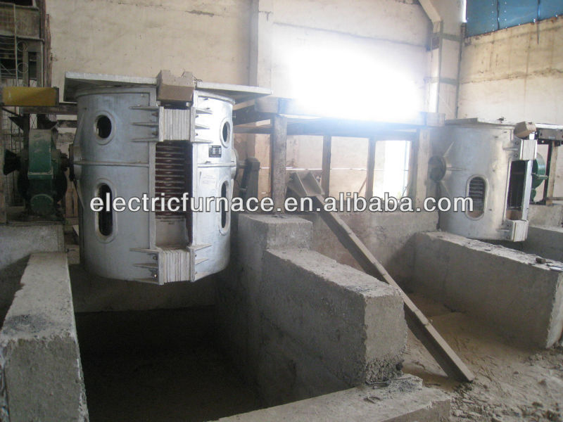 sale copper scrap induction melting furnace from Shanghai Electric Heavy Machinery Co., Ltd