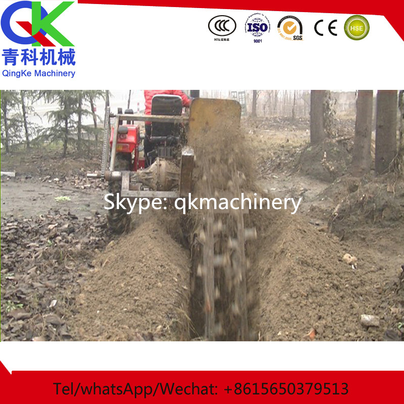 Multifunctional ditching machine orchard disc opener