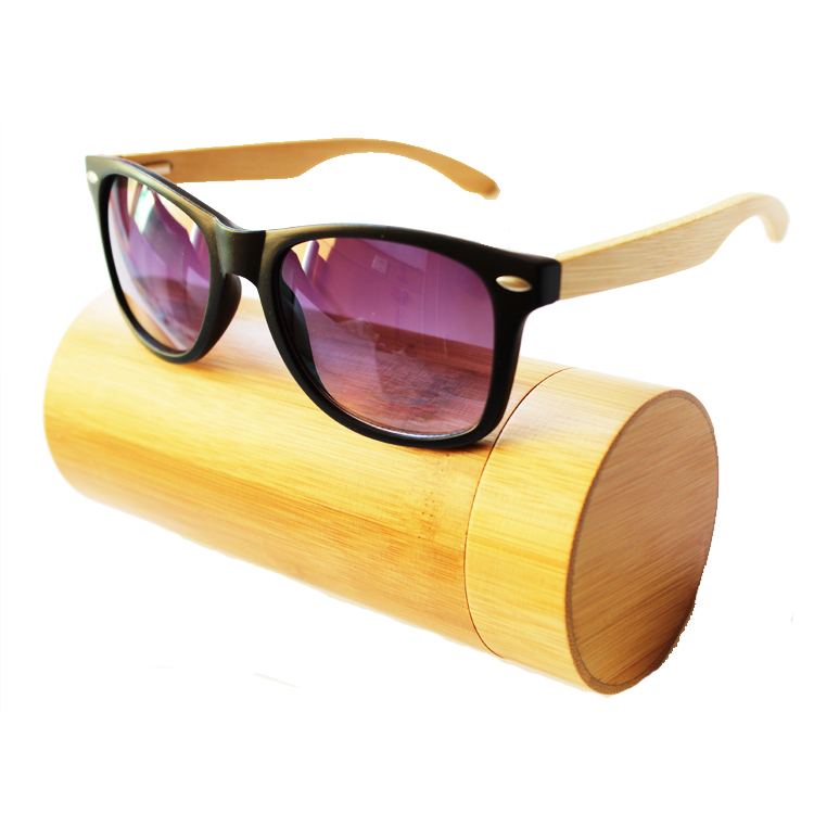Customized Top Quality Best Selling promotional Bamboo sunglasses from China sunglasses trading companies