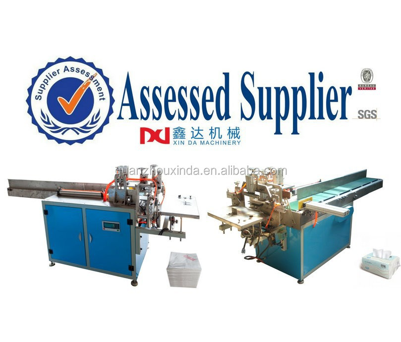 Manual plastic bag Sealing machine for soft tissue paper