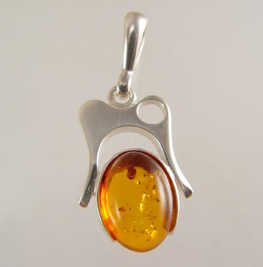 Silver & Amber Jewellery