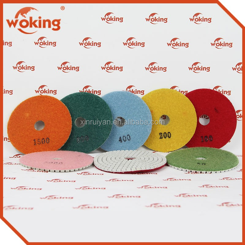 Diamond Polishing Pad For Marble