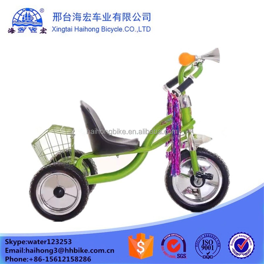 2016 Hot selling customed child stroller trike with wagon / cheap price baby trike for sale / kids smart trike manufacture