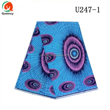 U247 Queency 2017 Cheap African Garment Textile 100% Cotton Ankara Holland Wax Print Fabrics