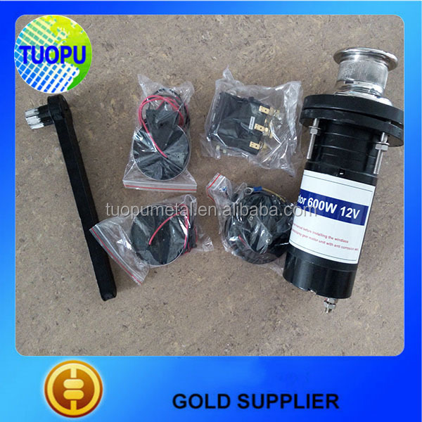 Popular small electric capstan,mini 12v capstans,capstan winch electric