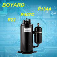 lanhai boyard hermetic vertical teco rotary compressor r410a for 18000btu split unit air conditioner parts
