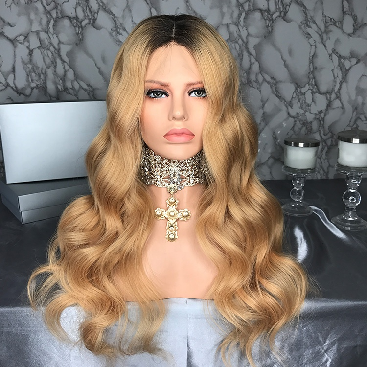 Ready To Ship Transparent Lace Wig Ombre Colored Hair Weave Lace Front Wig <strong>Human</strong> With Baby Hair For Black Woman