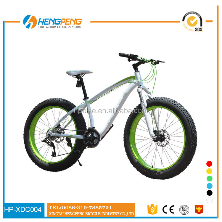 Cheap price fat bike mtb 26 inch full suspension fat beach cruiser bicycle with 26x4.0 fat tire