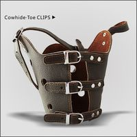 Cowhide Muzzles,For large and medium-sized dog,factory direct sale, welcome to customize
