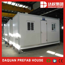 low cost Daquan 20ft prefab shipping container house for rent