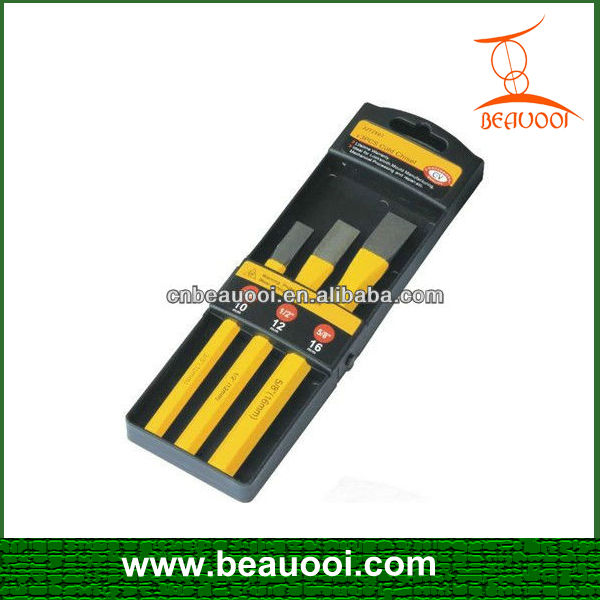3 Piece Professional Quality Cold Chisel Set stone carving chisels