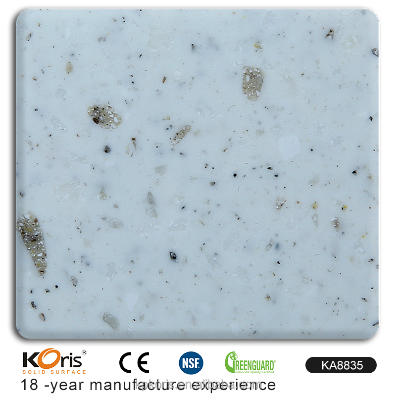 KA8835 2440MM Acrylic Stone Easy Clean Seamless Slabs