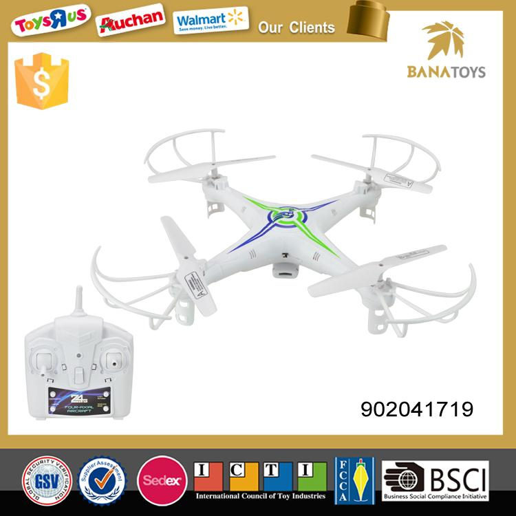 2.4g 4-axis ufo aircraft rc quadcopter with USB