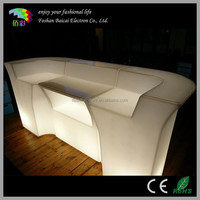 Wholesale Lighted Bar Counter and shop counter table design