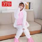 Cartoon style animal onesie pajamas for girls with low price