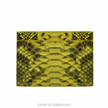 Latest New Fashion ID Card Holder 100% Python Leather Credit Card Holder