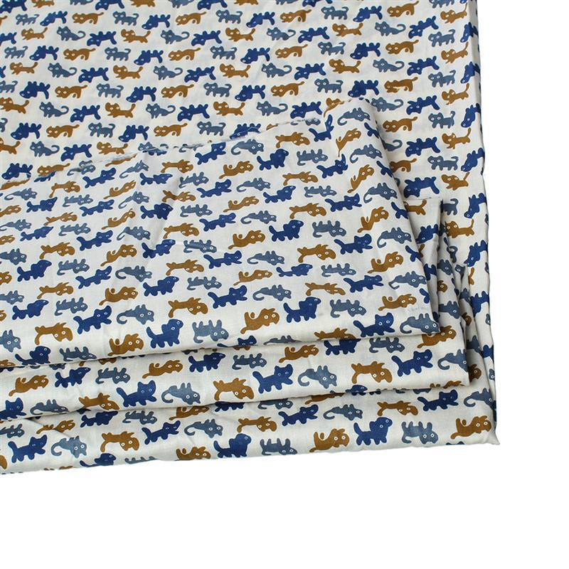 China Factory wholesale Multicolor Cat Pattern Pure Cotton Fabric