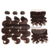 Wholesale Water Wave Human Hair Wigs Loose Wave Wig Color 4