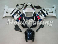 Fairing Kits for SUZUKI GSXR1000 03 04 GSXR 1000 K3 GSXR1000 GSX R1000 2003 2004 Body Fairings white blue