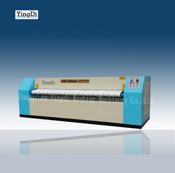 High Quality 3 Meters Double Roller Automatic Ironing Machine for bed sheets