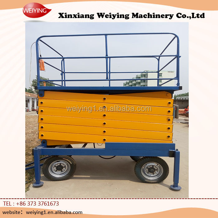 electric powered scissor lift/hydraulic scissor lifts
