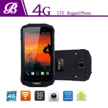 IP67 quad core hand phone waterproof, two side screen mobile phone, cell phoen with high volume