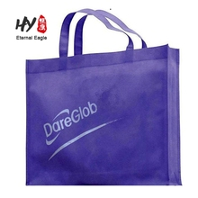 hot sale ecofriendly colourful non woven shopping bag with silk screen printing