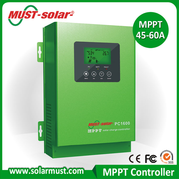 MUST Solar 24V MPPT Solar Charge Controller 45 Amp for 250w Solar Panel