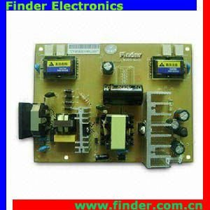 "TV & Monitor Power Supply and Backlight Inverter 2in1 Board for 17""-19"" 4 Lamps TFT LCD Module"