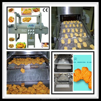 Hamburger Frying Machine For Croquette/Buffalo Wing