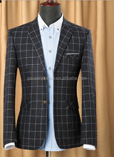 Latest design high quality China factory best price men suit neck design